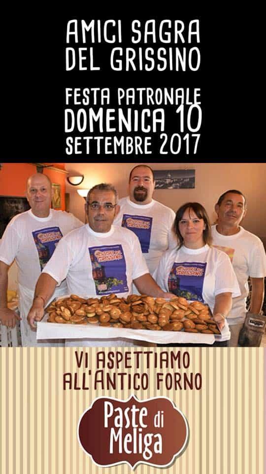 paste di meliga per la festa patronale di Gassino