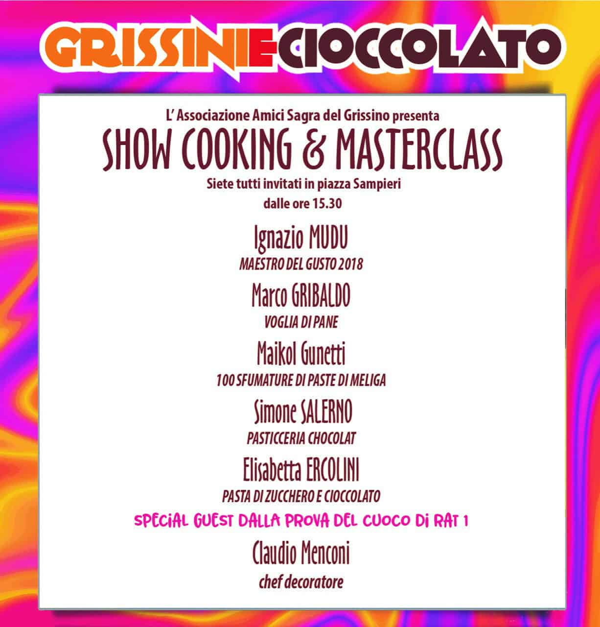 Show Cooking & Masterclass